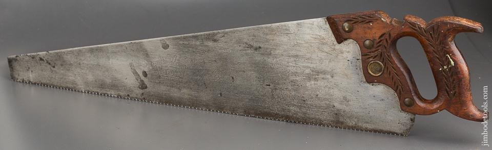 10 point 24 inch Crosscut DISSTON D23 Hand Saw - 84010