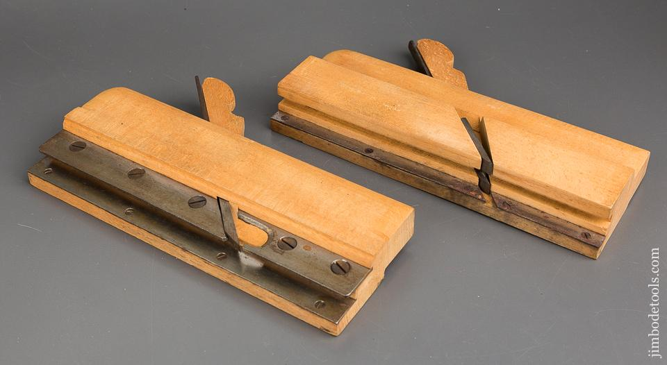 3/4 inch Pair of SANDUSKY Tongue & Groove Planes circa 1869-1925 NEAR MINT - 84024