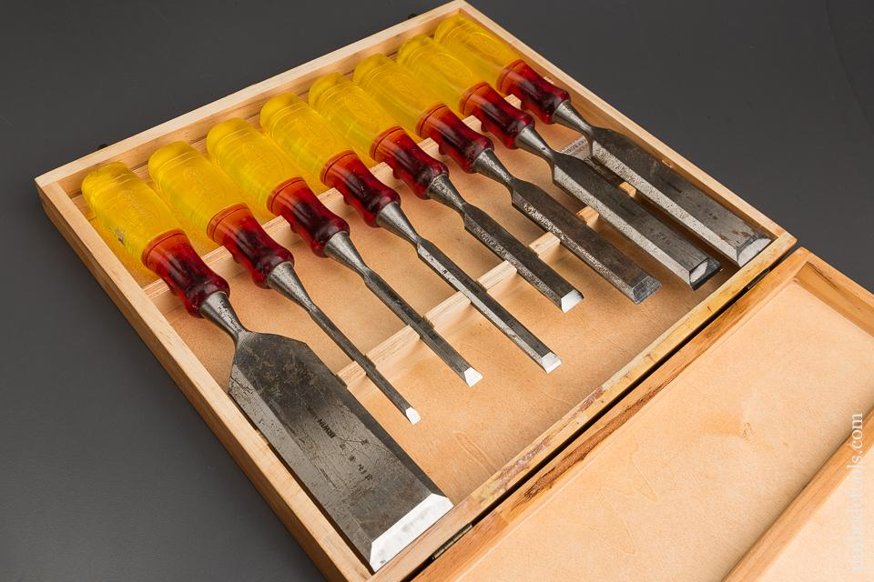 Set of Eight IRWIN MARPLES Chisels in Original Wooden Box - 84026