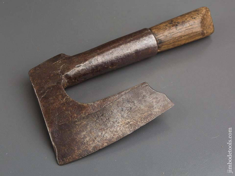 18th Century Single Bevel Side Ax - 84062