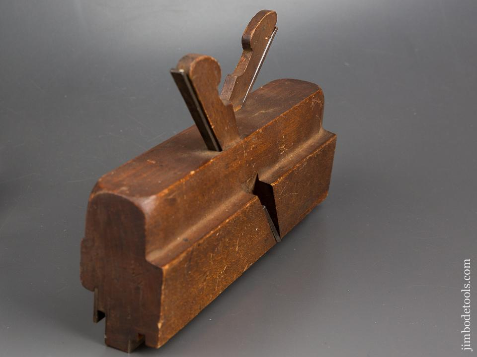 Crisp M. CRANNELL ALBANY NY Coming & Going Tongue & Groove Plane circa 1843-78 FINE - 84212
