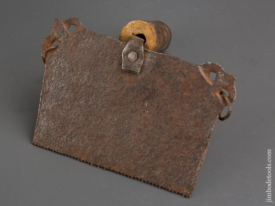 18th Century Decorated Flax Comb - 84267R