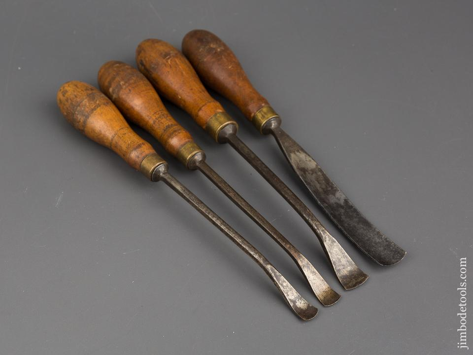 Set of Four ADDIS Gouges - 84303