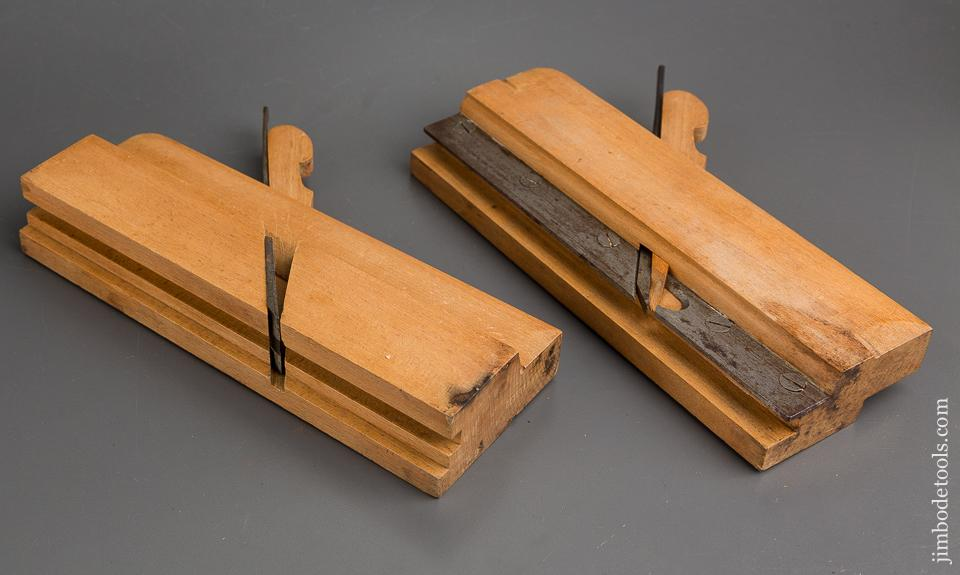 UNUSED Pair of One inch REED UTICA Tongue & Groove Planes circa 1820-94 NEAR MINT - 84374