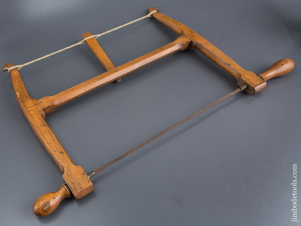 14 inch Beech & Boxwood Bow Saw by G. EASTWOOD YORK - 84522