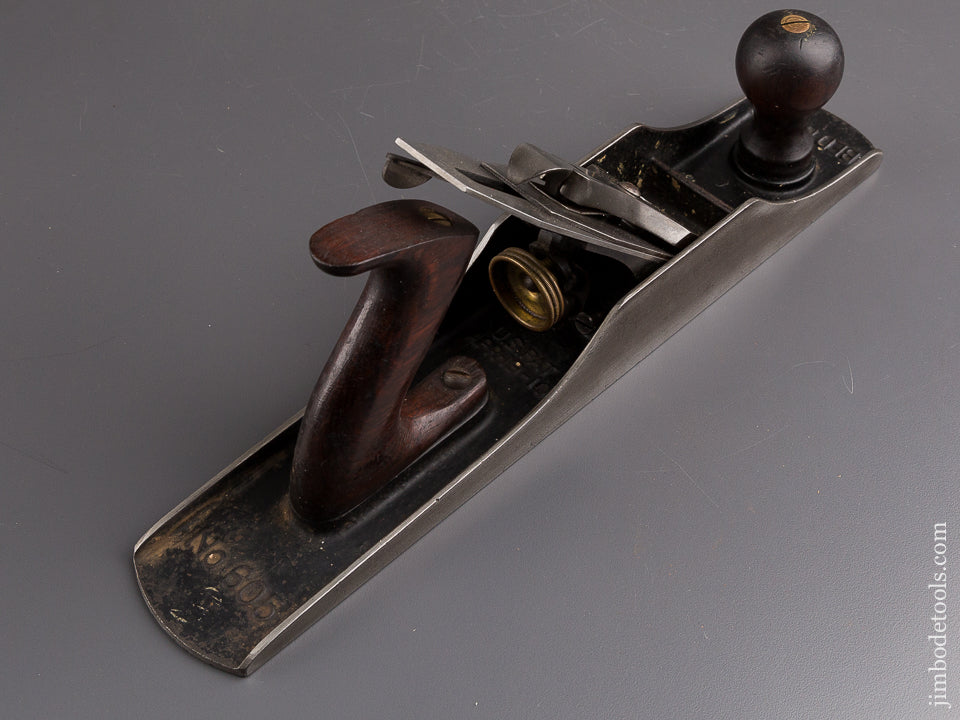 Awesome STANLEY No. 605 BEDROCK Jack Plane Type 7 circa 1923-26 SWEETHEART - 84671