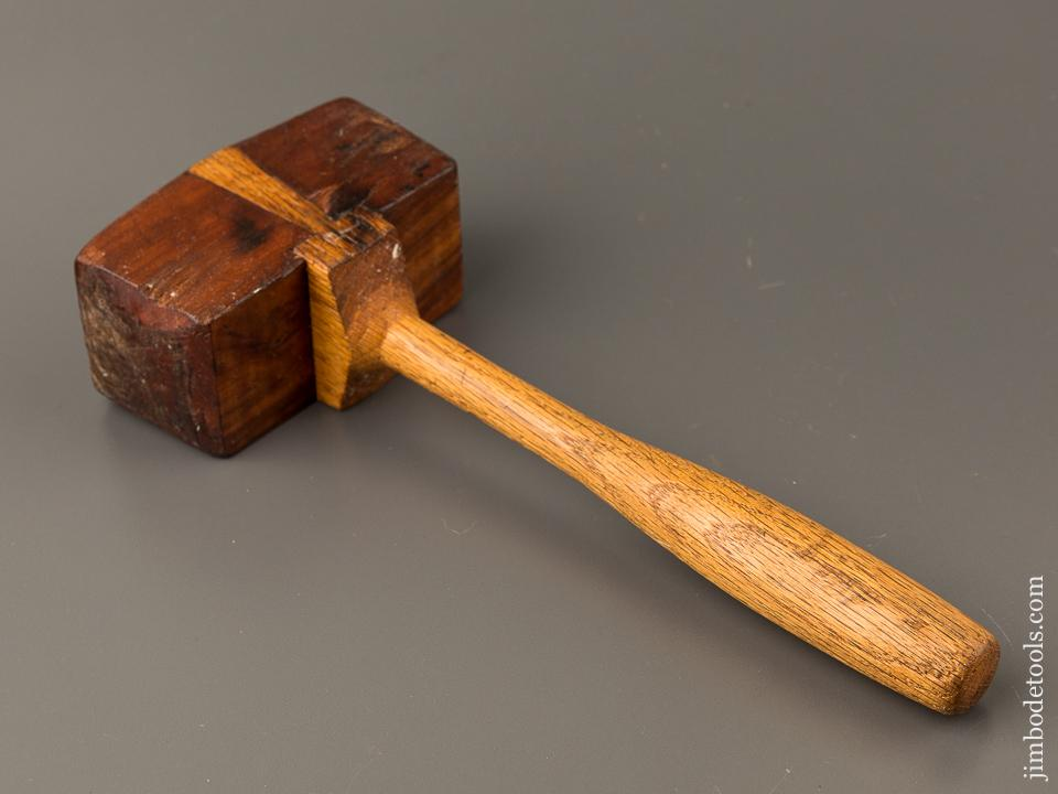 Unusual Ten ounce Dovetailed Cherry Mallet - 84712