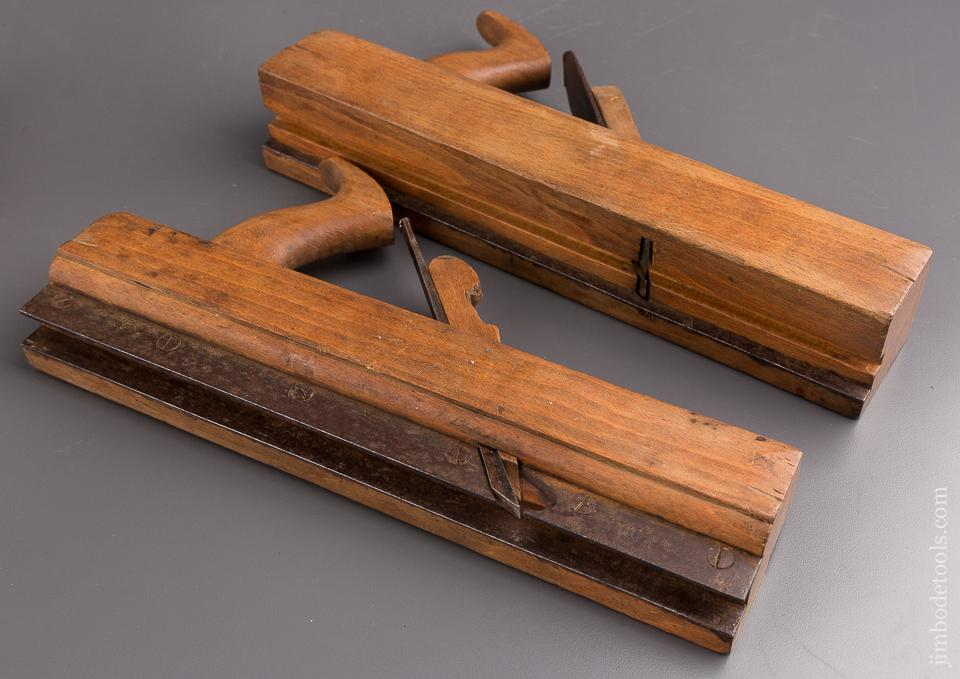 1 1/4 inch REED UTICA Tongue & Groove Set circa 1820-94 FINE = 84860