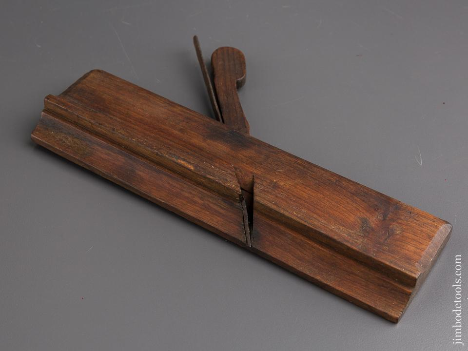 18th Century 10 inch Yellow Birch Molding Plane GOOD+ - 84932R