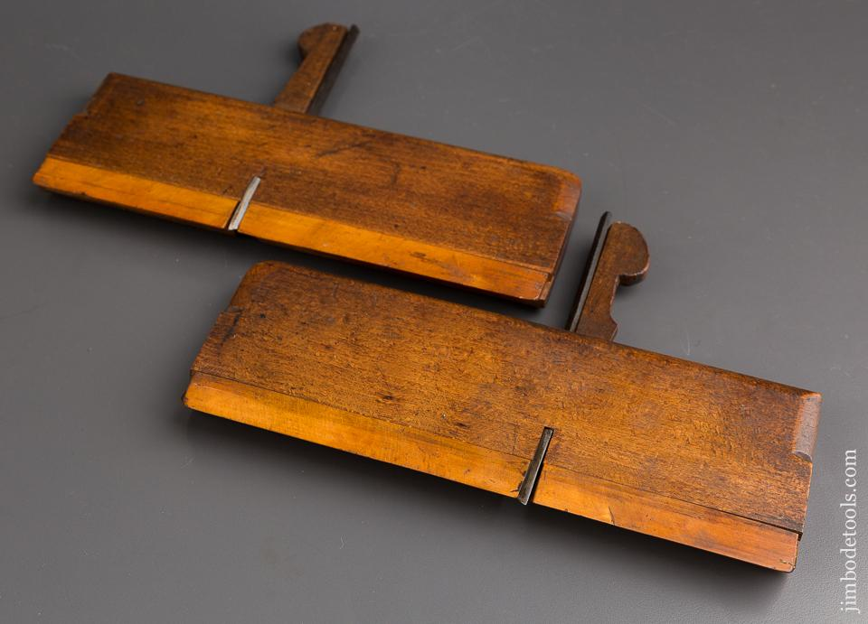 Pair of MOSELEY Side Snipe Planes circa 1809-1918 London - 84938