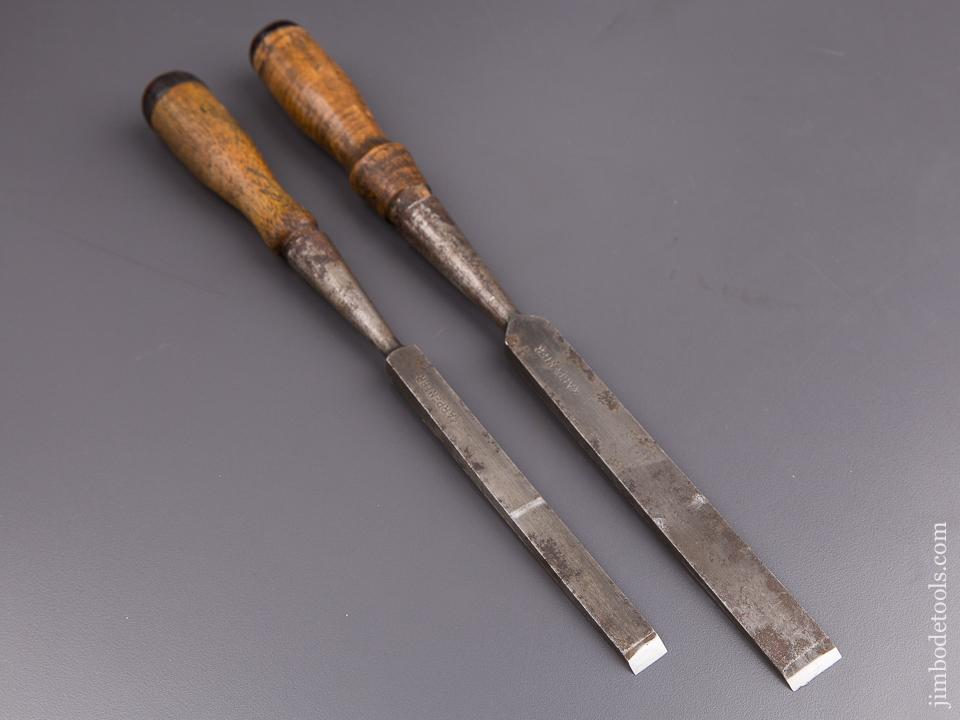 Two Good Chisels by WINSTED EDGE TOOL WORKS (T.H. WITHERBY) - 84942
