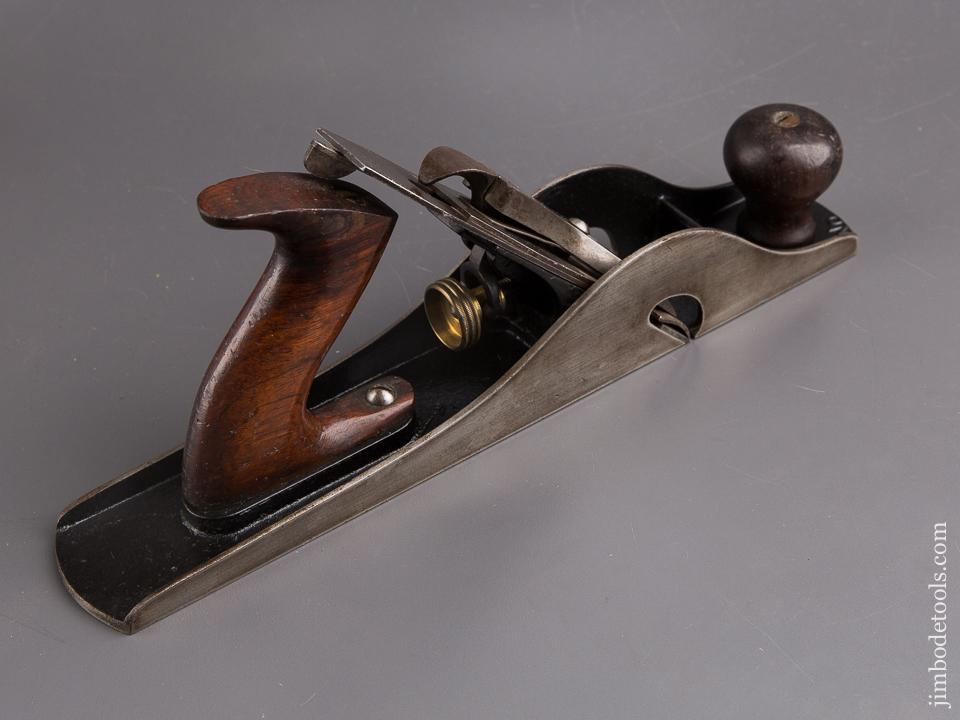 STANLEY No. 10 Carriage Makers Rabbet Plane with Full V Logo Iron - 85027