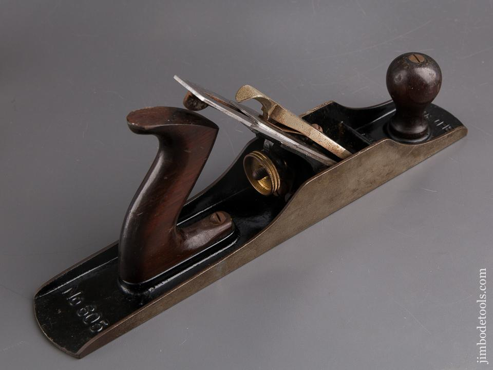 Extra Fine STANLEY No. 605 BEDROCK Jack Plane Type 9 circa 1931-32 with Orange Frog SWEETHEART - 85124