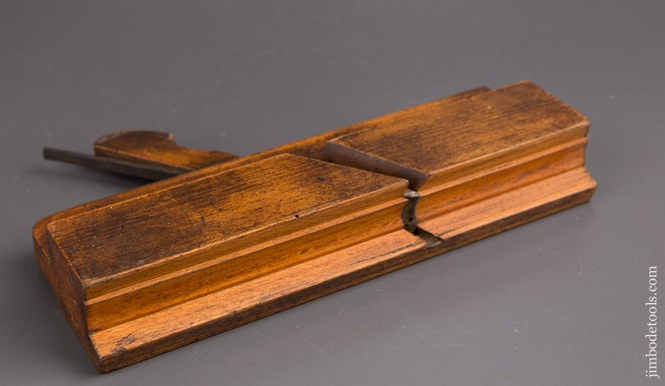 1 1/2 inch Wide Sash Moulding Plane by GREENSLADE BRISTOL circa 1828-1937 GOOD - 85355