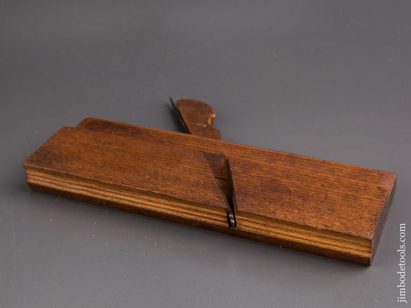 Lovely Little Complex Moulding Plane By Aird Gardner St