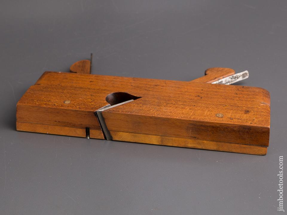 Crisp! 18th Century Pair of Hollow & Round Moulding Planes by NELSON York circa 1750-83 EXTRA FINE - 85562