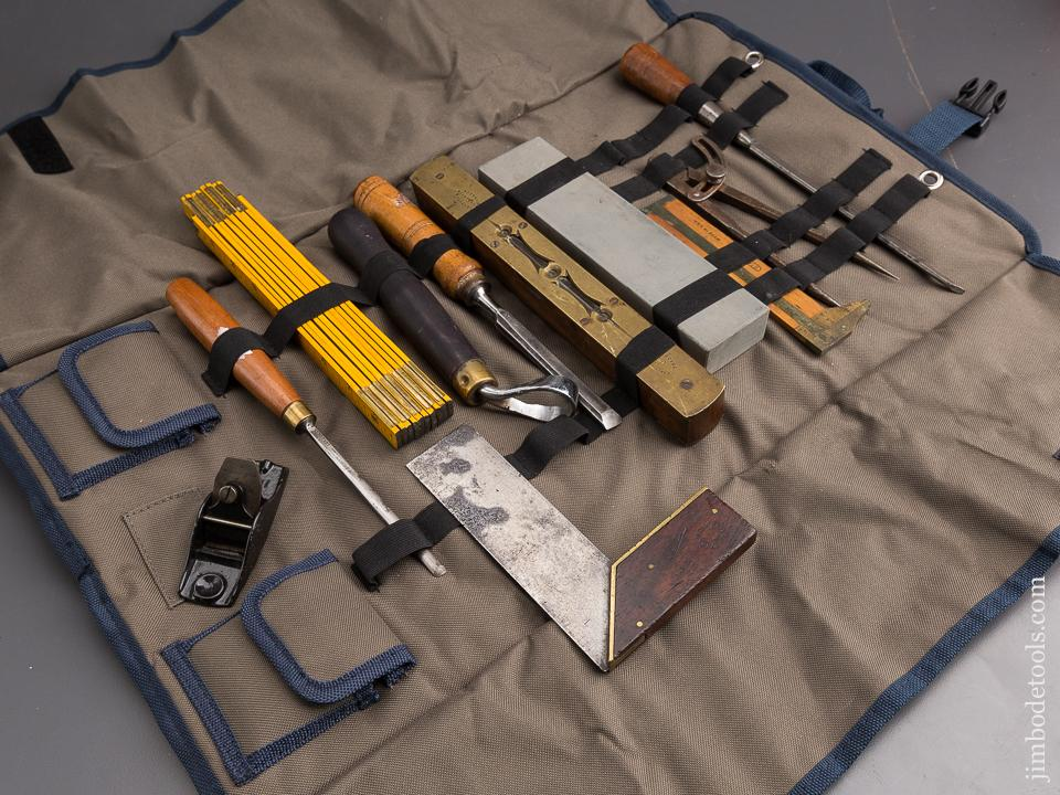 Nice Tool Roll with Eleven Great Tools - 85871