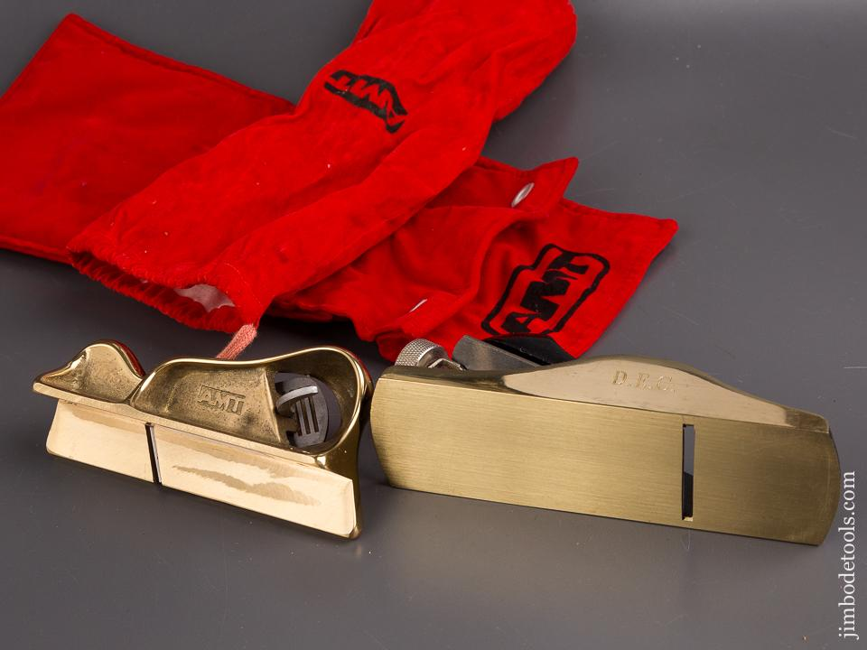 AMT Edge Trimming Block Plane and AMT 2 1/8 x 7 inch Block Plane in Original Pouches - 94195