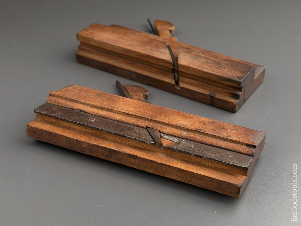 7/8 inch Tongue & Groove Planes by CURRIE GLASGOW circa 1828-75 GOOD+ - 88006