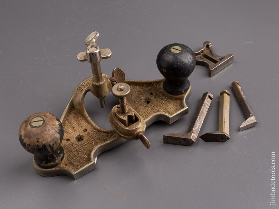 STANLEY No. 71 Router Plane 100% COMPLETE - 86120