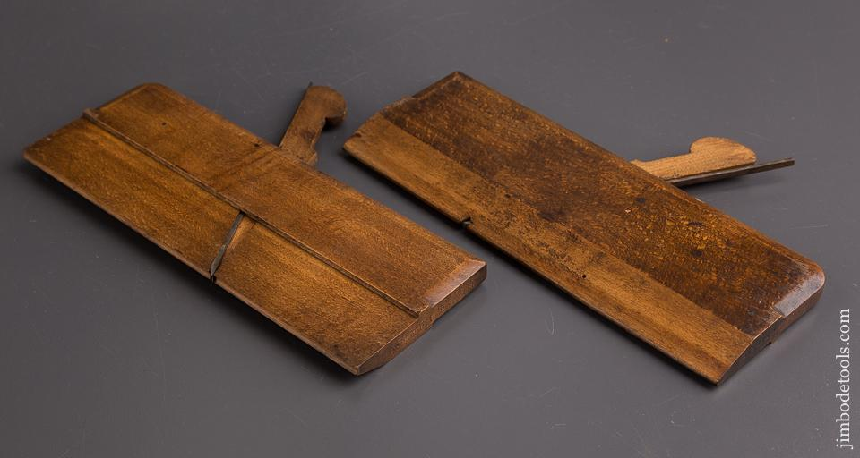Matched Pair of No. 2 Hollow & Round Moulding Planes by GRIFFITHS NORWICH circa 1803-1958 - 86184
