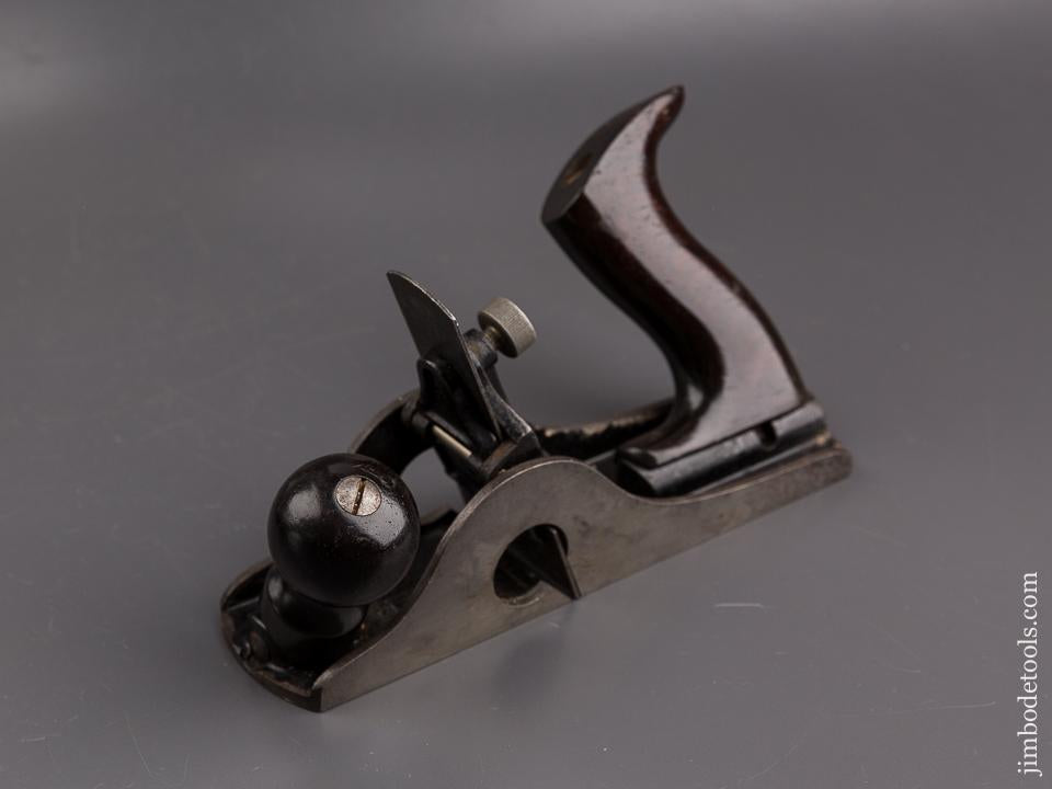 STANLEY No. 85 Tilt Handle Cabinet Maker's Scraper Plane EXTRA FINE with RARE Marked Cutter SWEETHEART - 86189