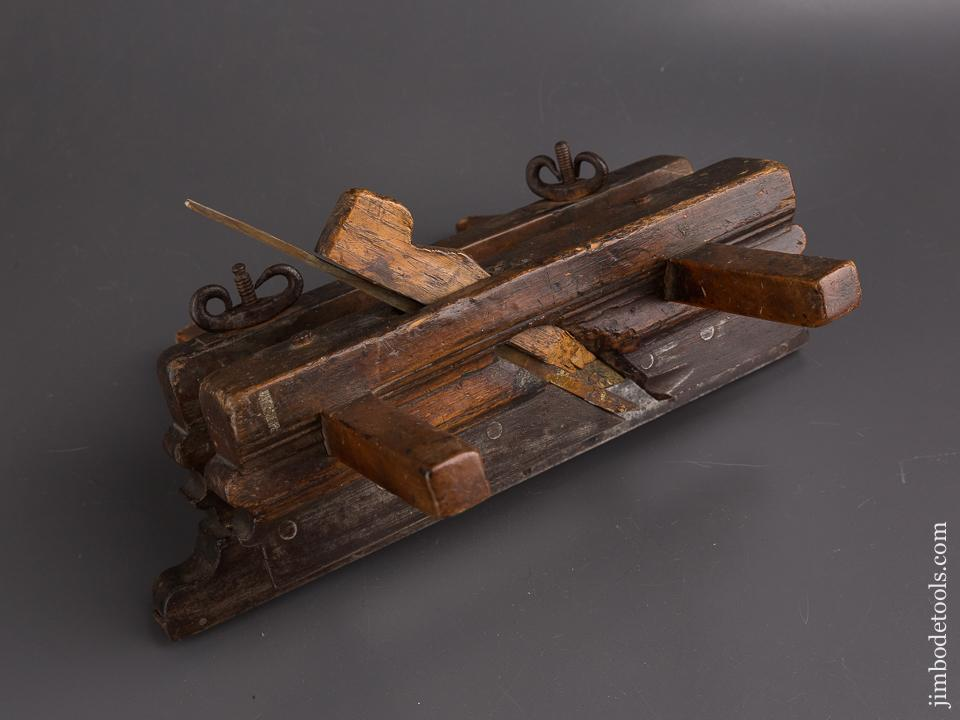 Excellent 1785 Dated Plow Plane by JOHANNES VAN DIENSLAGEN circa 1782-1824 Amsterdam - 86317U