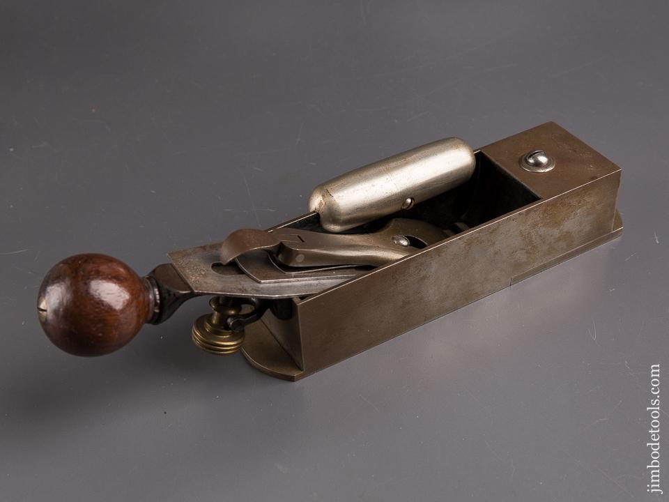 Crisp STANLEY No. 9 Cabinet Maker's Block Plane with Hot Dog All ORIGINAL & FINE! - 86809
