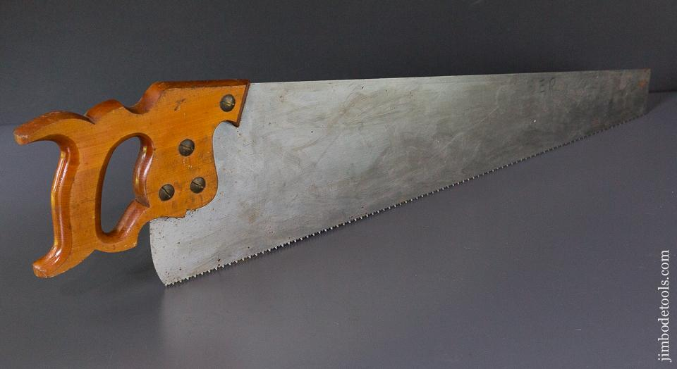 UNUSED! 8 point 26 inch Crosscut DISSTON D7 Hand Saw - 87019