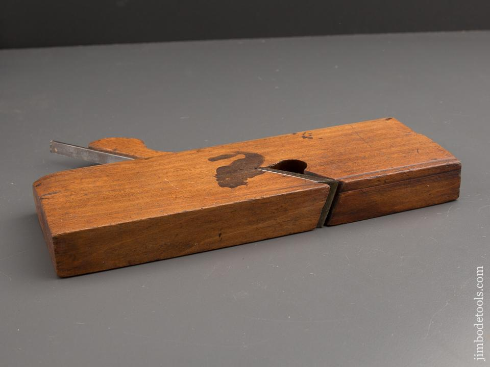 One inch Skew Rabbet Plane by JOHN BELL AGT PHILAD circa 1829-51 GOOD+ - 87304