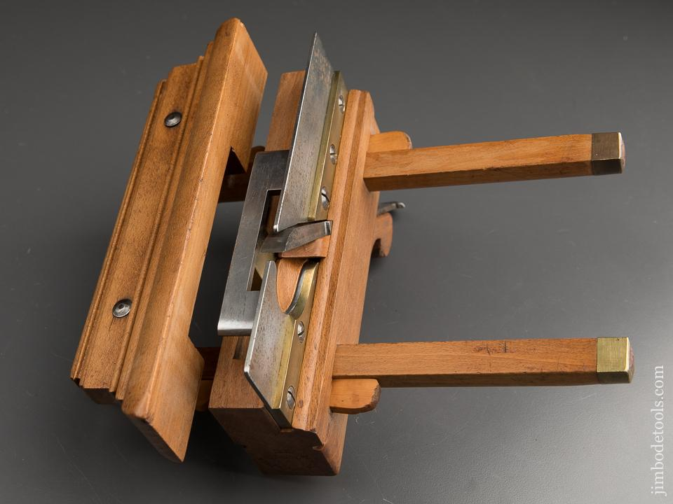 Good User Beech Plow Plane by YOUNG & M'MASTER AUBURN NY circa 1838-46 FINE - 87552