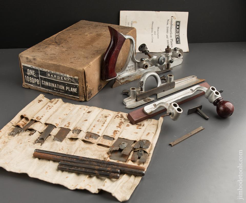 SARGENT No. 1080PB Combination Plane in Original Box - 87569