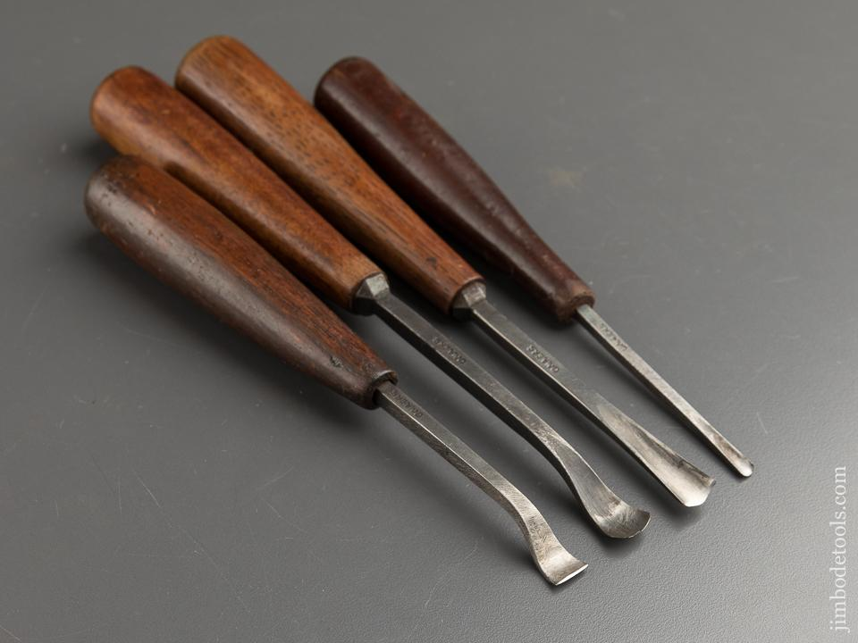 Set of Four C. MAIERS Carving Chisels - 87684