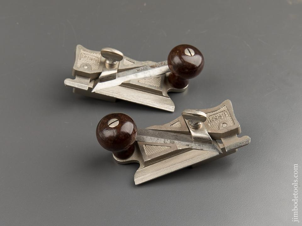 Mint! STANLEY No. 98 & 99 Side Rabbet Planes - 88022