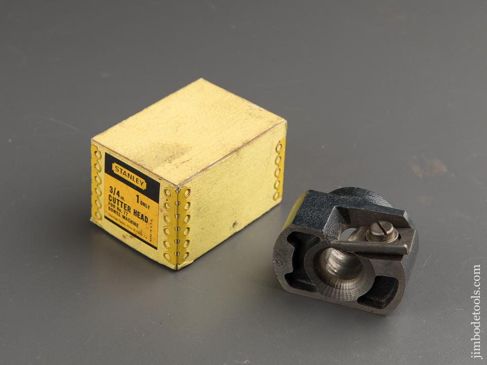 STANLEY 3/4 inch Cutter Head in Original Box - 88141