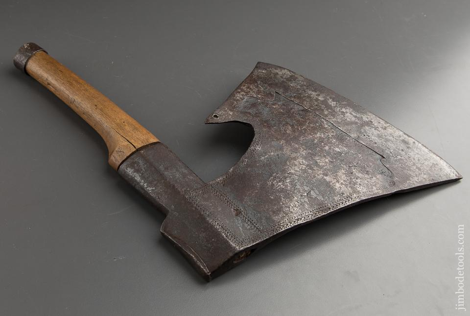 Stunning 1746 Dated And Decorated Broad Axe - 88280U