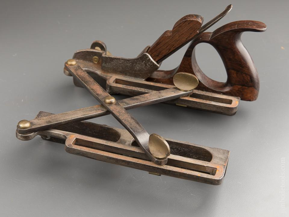 MORRIS Patent March 21, 1871 Type One Scissor Arm Plow Plane with One Iron - 88313