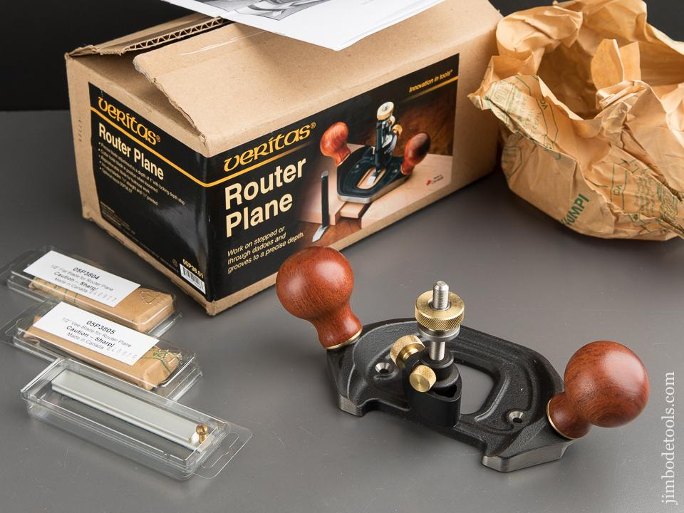 NEW No. 05P38.01 VERITAS Router Plane in UNOPENED Original Box - 88379
