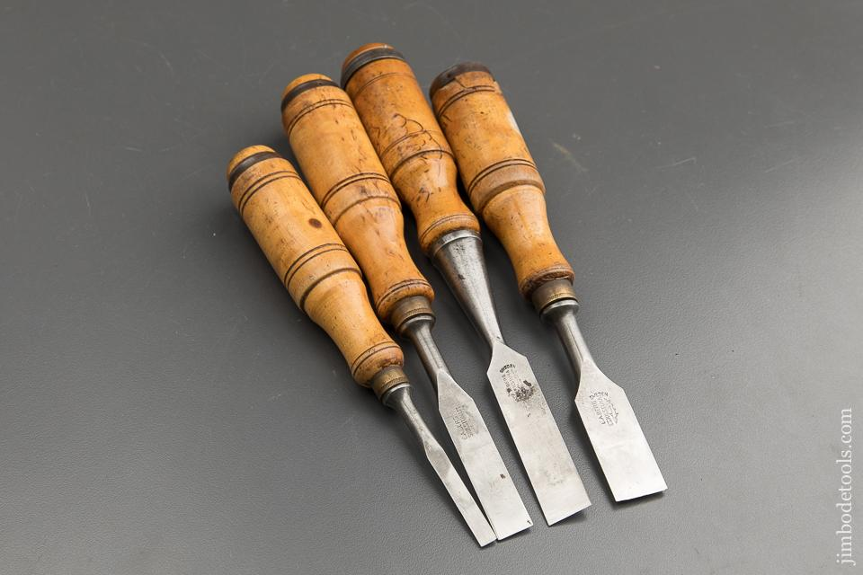 Set of Four E.A. BERG ESKILSTUNA Chisels - 88521