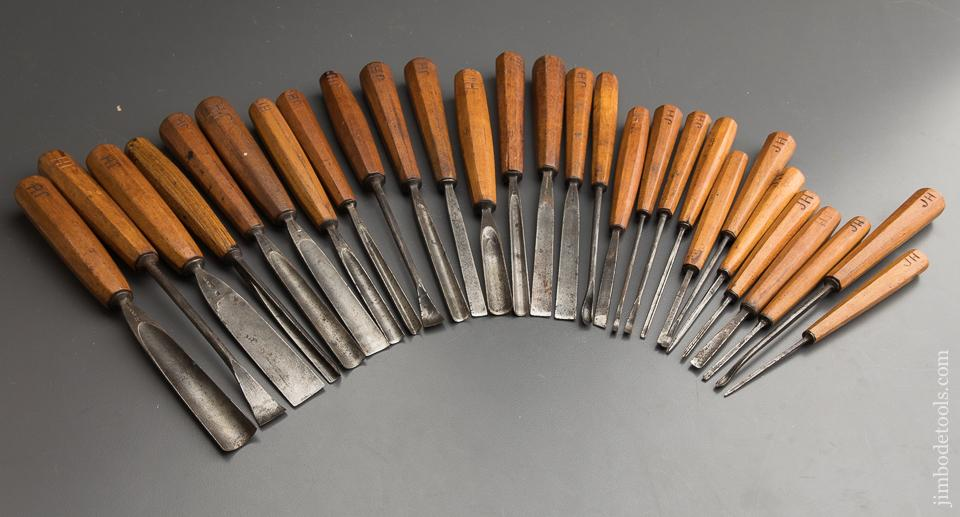 The Best of the Best! 28 Good ADDIS Carving Chisels - 88645