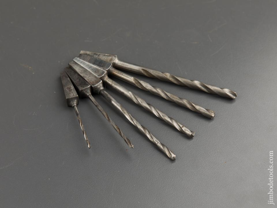 Set of Six Drill Bits for Brace - 88675
