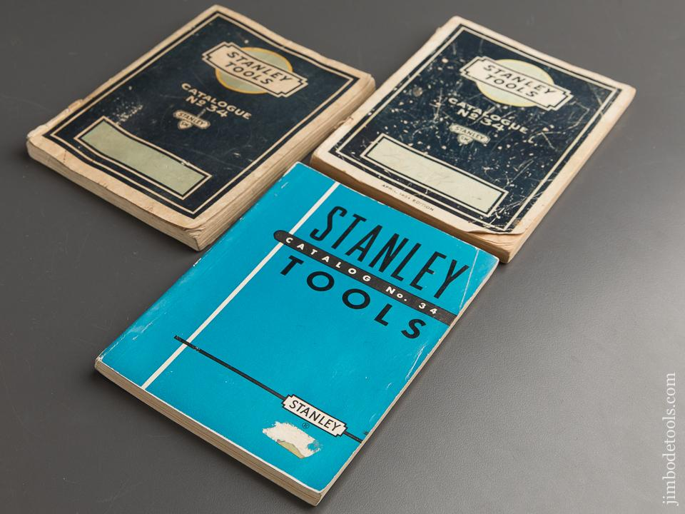 Book: Three Original STANLEY Catalogues - 88788