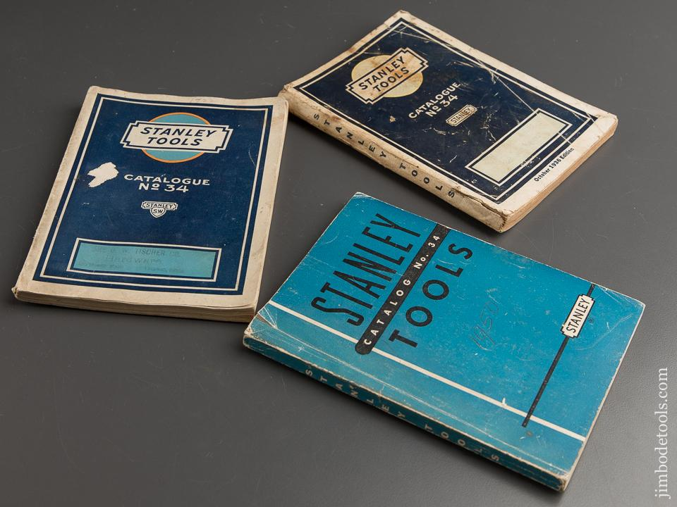 Book: Three Original STANLEY Catalogues - 88789
