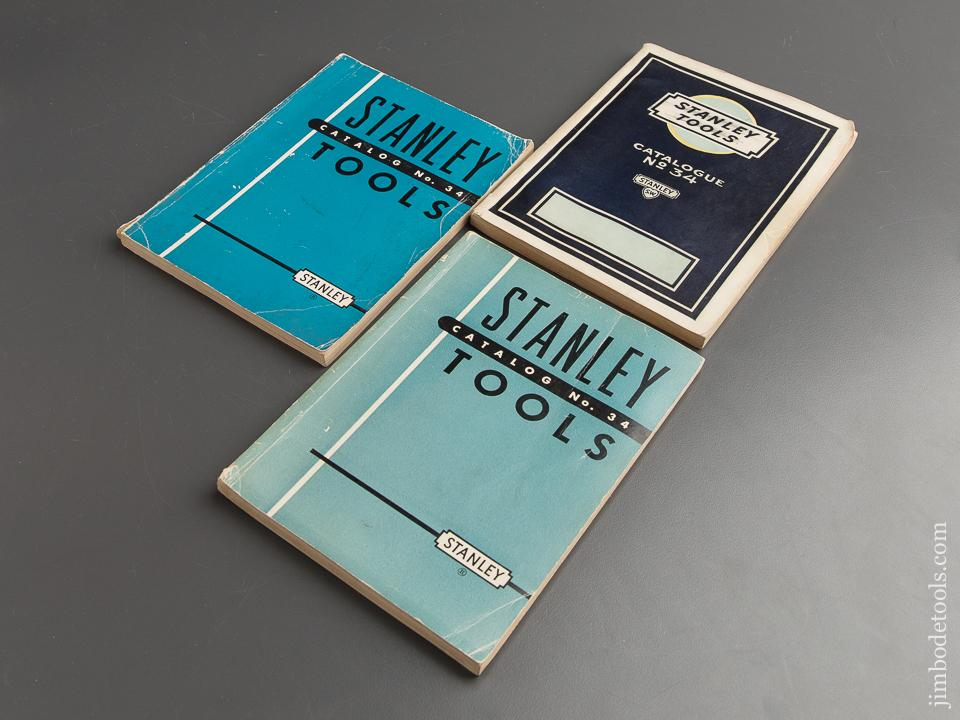Book: Three Original STANLEY Catalogues - 88790