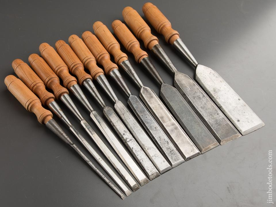 Stunning Set of Socket Firmer Chisels by STILLETTO - 88795
