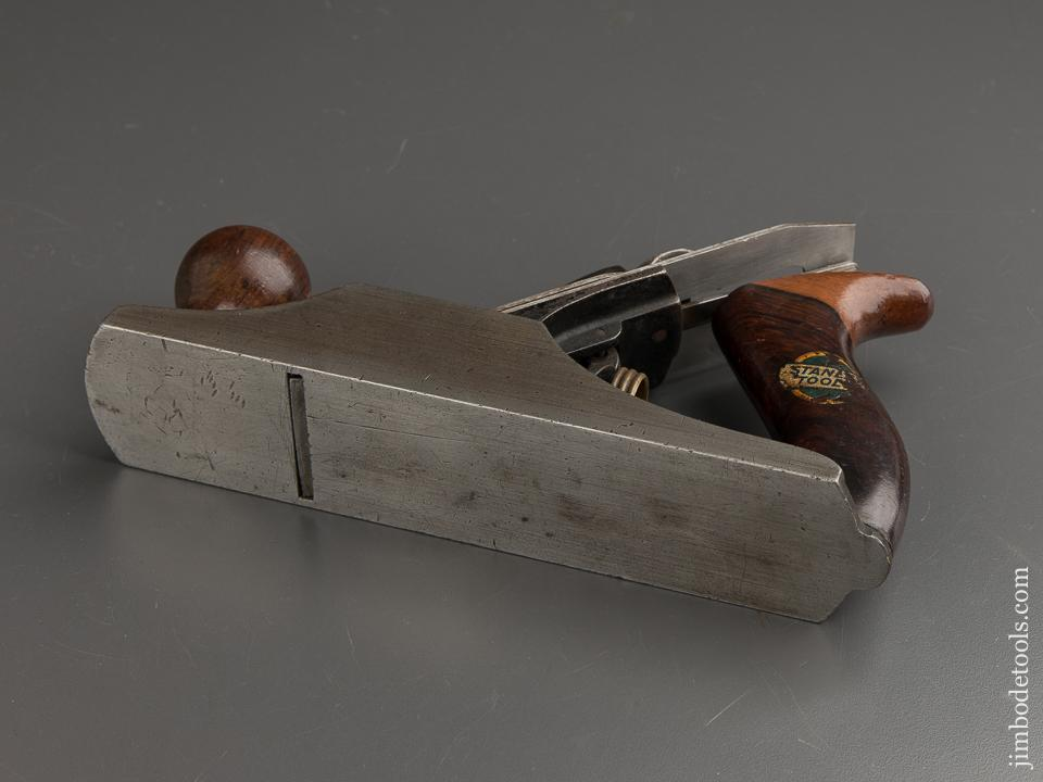 Awesome STANLEY No. 603 BEDROCK Smooth Plane Type 6 circa 191921 with Decal SWEETHEART - 88812