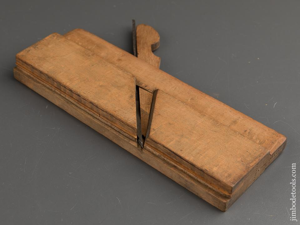 1/8 inch Bead Molding Plane by A. HOWLAND & CO circa 1869-74 GOOD+ - 88850