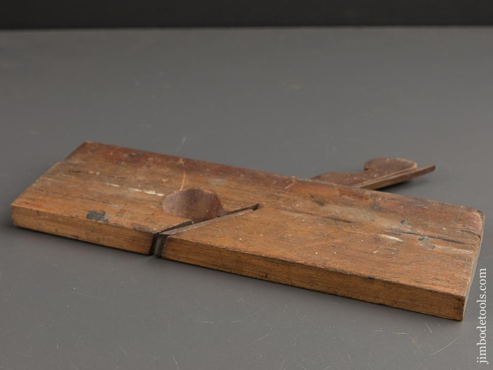 5/8 inch Skew Rabbet Plane by YOUNG & M'MASTER circa 1838-46 GOOD - 88934