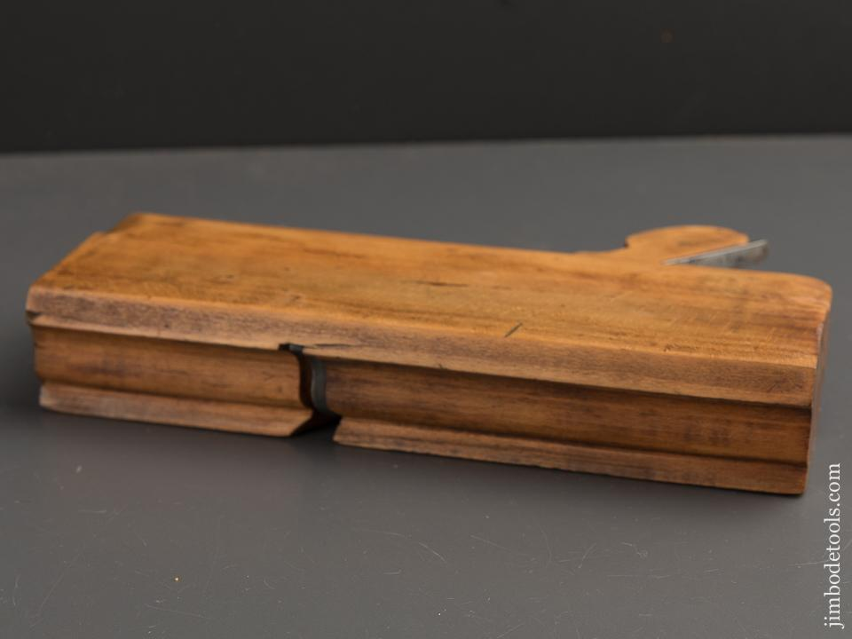 1 5/8 inch Wide Ogee No. 126 Molding Plane by A. HOWLAND N.Y. circa 1869-74 GOOD+ - 88981