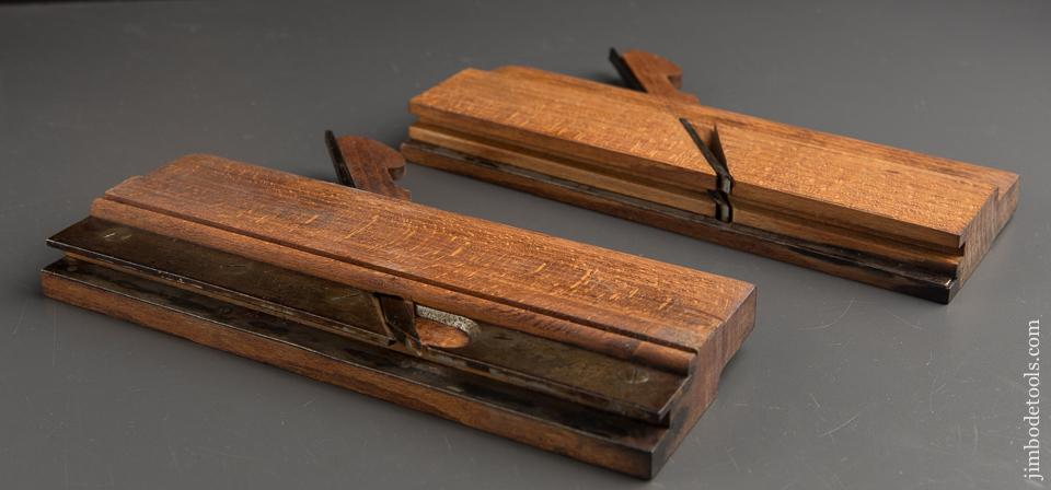 5/8 inch Tongue & Groove Set by L. CASE circa 1850-55 Watertown, NY - 89163